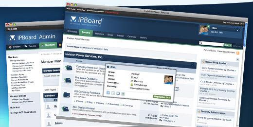 رائعة منتديات الآى بى IP.Board 3
